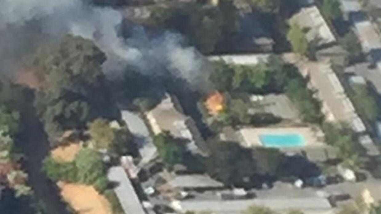 Se incendian departamentos en Antioch