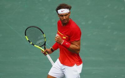 Nadal ya juega ante Gilles Simon