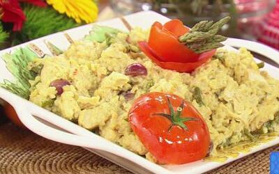 Chef Pepín te enseña a cocinar un Pollo al Curry con Arroz Integral