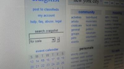 El sitio de Internet Craigslist.org es popular para colocar anuncios cla...