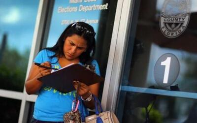 Aunque usted no lo crea, solo toma 3 minutos registrarse como votante. Y...