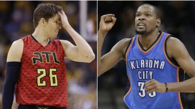 Thunder emparejó la serie y Hawks buscarán ganar tras dos...
