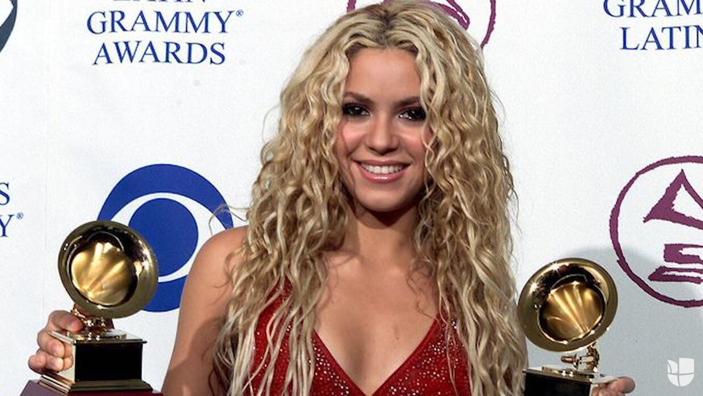 Así se ha transformado Shakira con los años