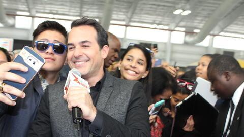 Las estrellas de Univision armaron su propia banda con el público...