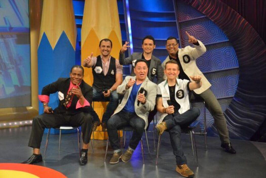 Ellos fueron los 6 participantes de la 'Tómbola de la risa' que esta sem...