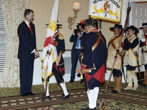 El Príncipe de Asturias asistió a la inauguración d...