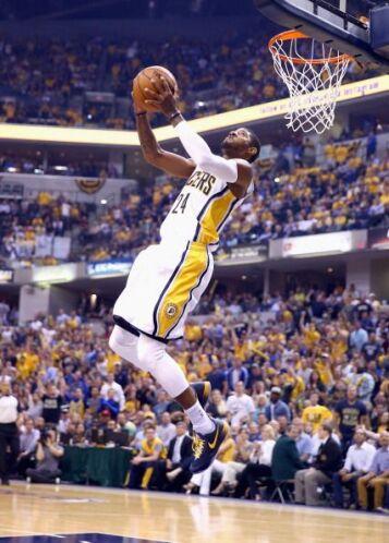 En esta ocasión, los Pacers efectivizaron solamente para un 39% en tiros...