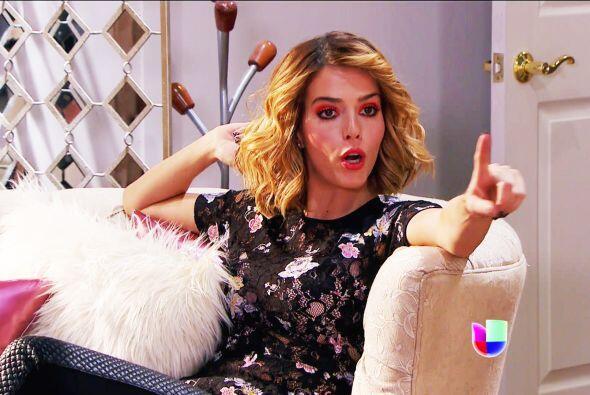 Por más que nos quieras hacer creer que eres una gran actriz en España,...