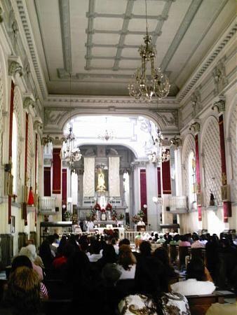 Basílica de Nuestra Señora de Guadalupe en la Ciudad de Guatemala.