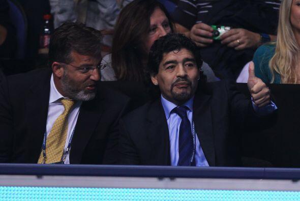 Maradona necesitó de un intérprete para poder comunicarse con Federer y...