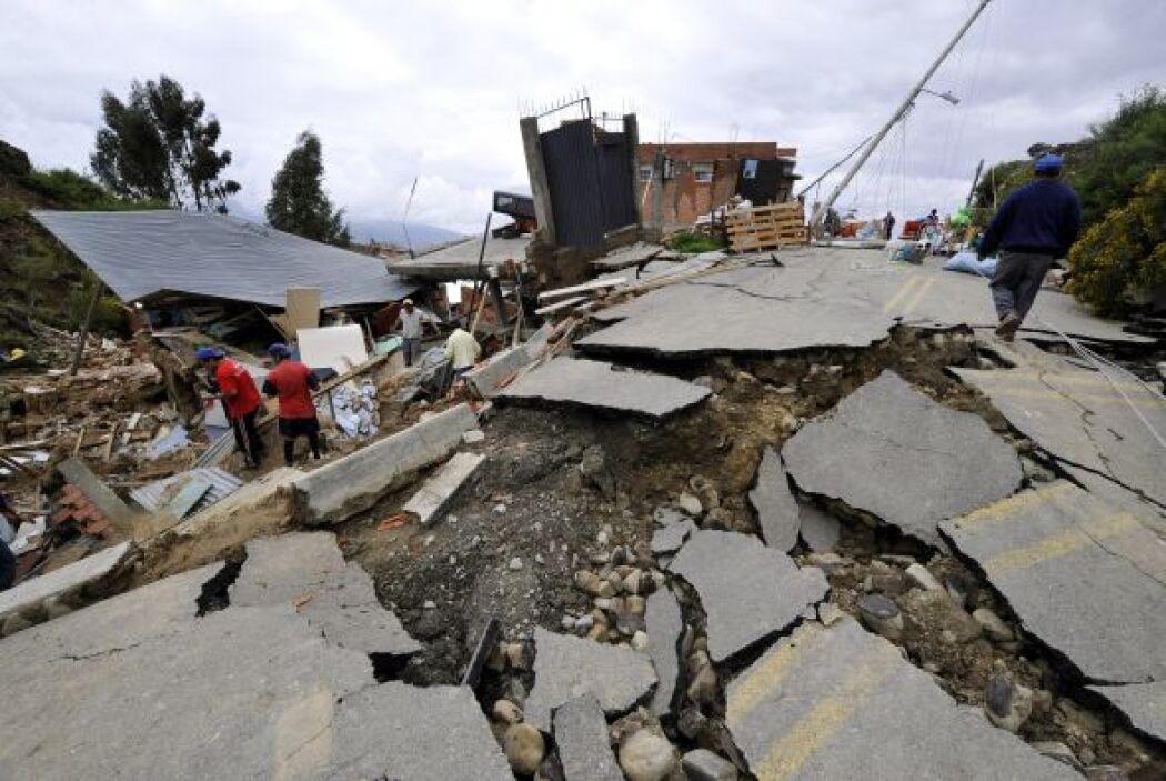 Morales, detalló 'Donde antes existían urbanizaciones, ahora hay como un...
