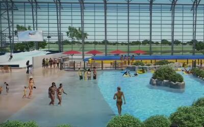 Comenzó la construcción del parque acuático bajo techo más grande de Texas