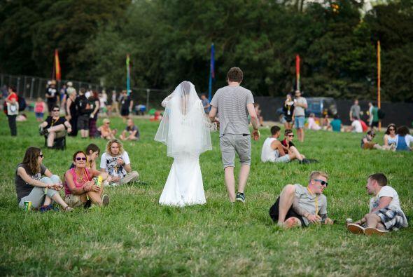 Ahora esta pareja disfrutará del festival que se llevará a...