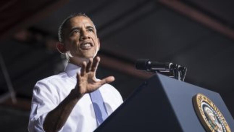 """Obama acusó a los republicanos en la Cámara de Representantes de """"un con..."""