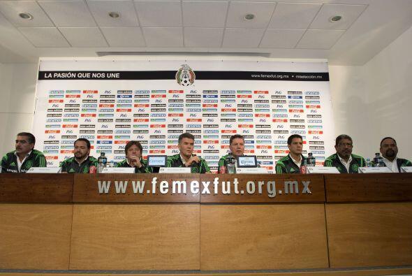 El cuerpo técnico del 'Piojo' Herrera, es el mismo que lo acompa&...