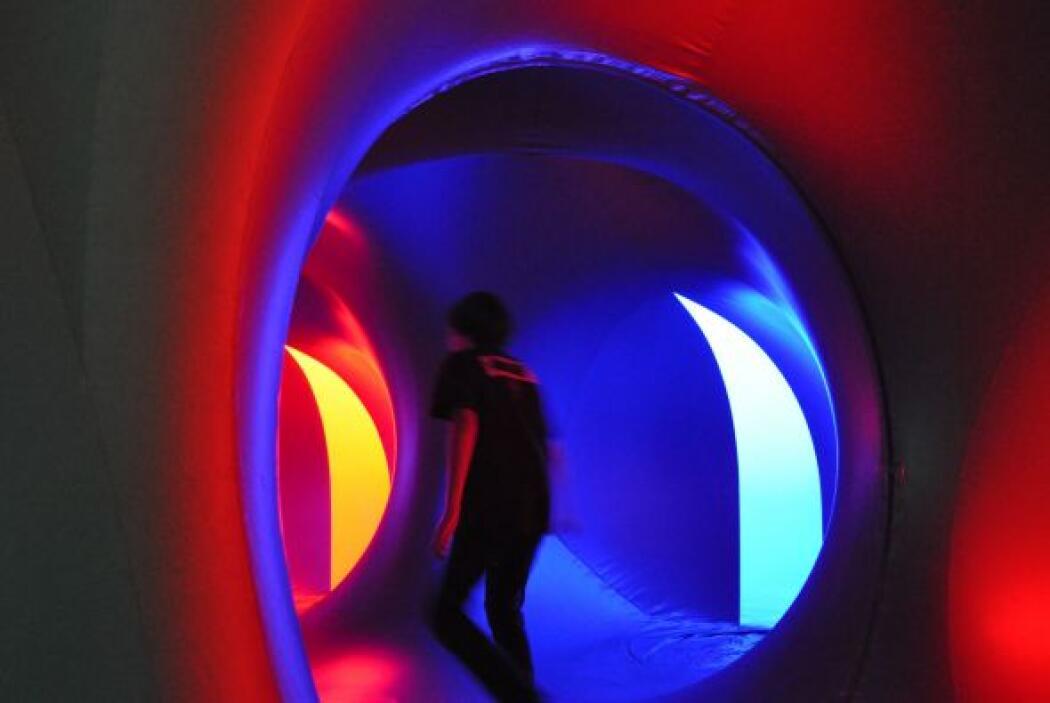 Exxopolis Luminarium es un espectáculo único que tuvo muy buena acogida...