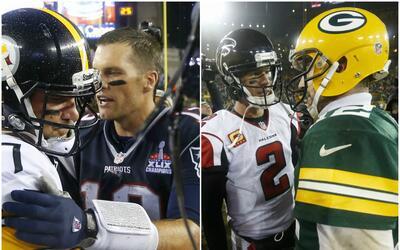 Cuatro pasadores de élite buscarán su boleto al Super Bowl.