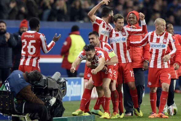 Los griegos sorprendían en suelo francés cuando a 10 minut...