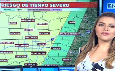 'Dallas en un Minuto': día con tormentas severas, el pronóstico del tiem...