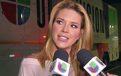 Alicia Machado explotó frente a las cámaras y criticó NBL
