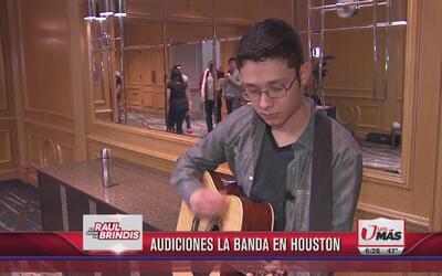 Las audiciones de La Banda llegaron a Houston