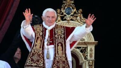 Benedicto XVI pidió a los presentes en la tradicional ceremonia dirigirs...