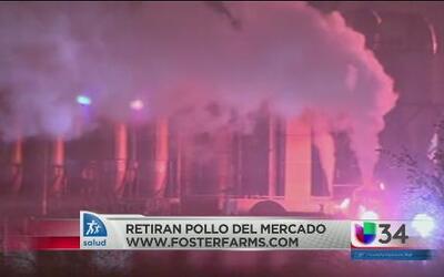 Se ha anunciado el retiro de productos de pollo de Foster Farms de Fresno