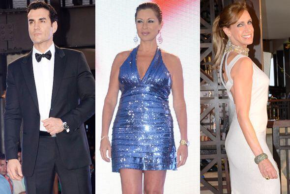 La alfombra de los Premios TVyNovelas 2013 estuvo llena de estrellas y u...
