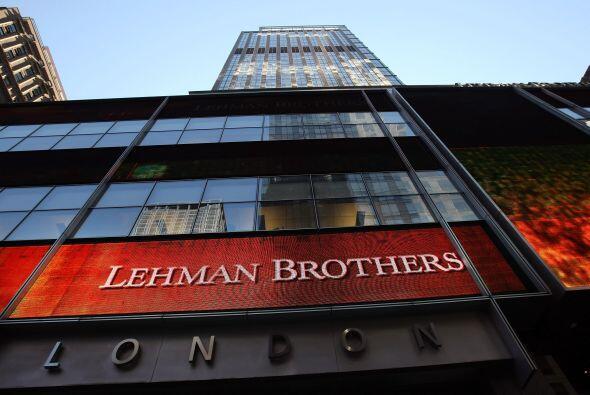 1. Lehman Brothers (banco) - 15 septiembre 2008 - $691 mil millones.