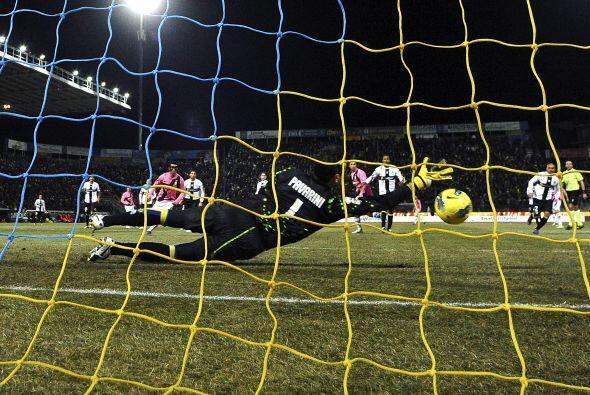 Pero quedaron 0 a 0 y por ende, la 'Juve' se mantiene en la segunda posi...