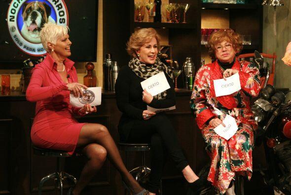 Doña Angustías Mercado, Cristina y Laura Zapata defendieron el papel de...