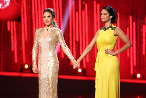 Aly y Alina fueron las dos chicas que estuvieron en peligro de eliminación.