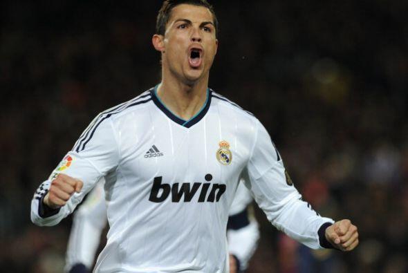 Fue el sexto gol que Cristiano Ronaldo le marca al Barcelona en el Camp...