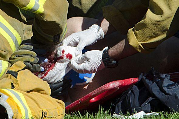 Según información de testigos, Harrison Ford presentaba un sangrado en l...