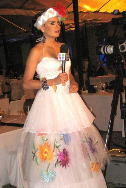 Pasarela en honor a Frida Kahlo en el 2008