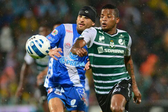 Puebla cierra el torneo como visitante en la cancha de Santos, ésta canc...