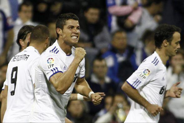 CR7 no para de meter goles, es el goleador de La Liga y el Madrid se man...