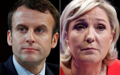 De confirmarse los resultados, Macron y Le Pen serían los candida...