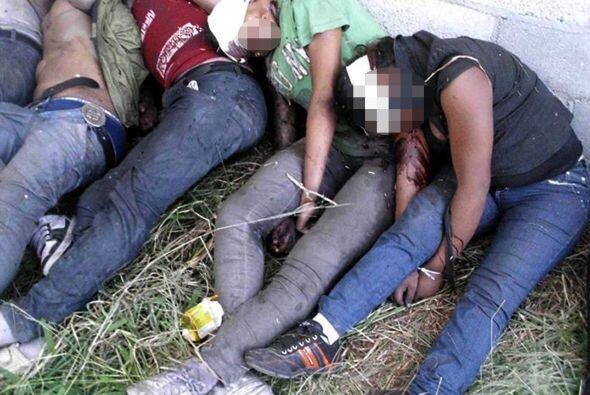 De esa masacre, las autoridades mexicanas también responsabilizaron a 'L...