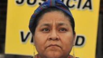 El gobierno de Guatemala rechazó informe de Wikileaks sobre Rigoberta Me...