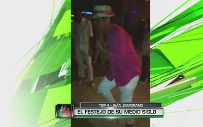 Iván Zamorano la rompe bailando en el festejo de su cumpleaños 50