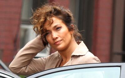 J.Lo filmando nueva temporada de 'Shades of Blue'.
