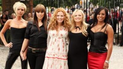 Mel C (a la derecha de Victoria Beckham) considera que Rihanna es mala i...