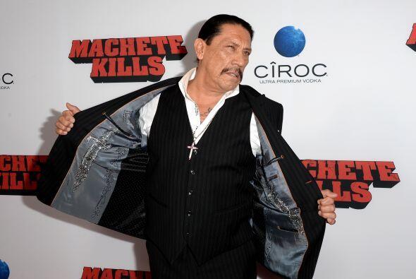 Danny Trejo no podría estar más feliz con el regreso de Machete al cine.
