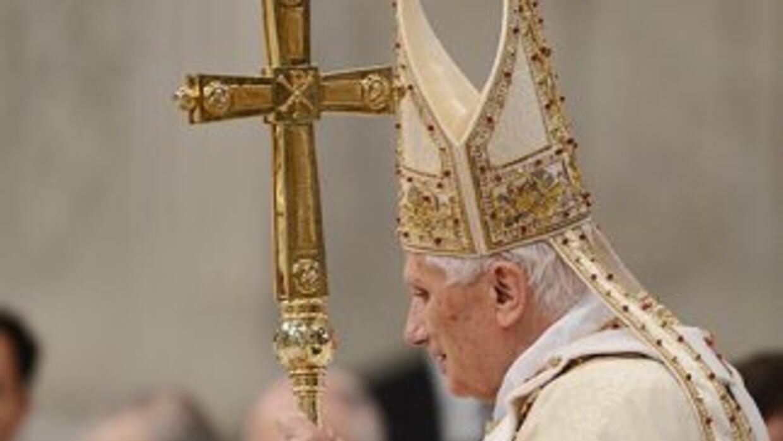 """Benedicto XVI indicó que Cristo ha corregido """"las tradiciones humanas qu..."""