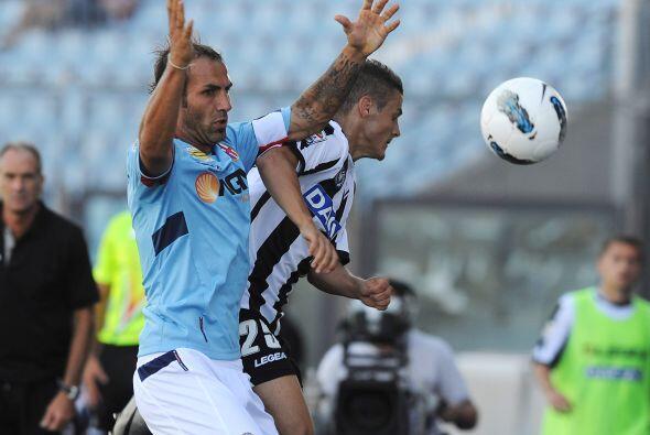 Aunque fue de forma compartida, pues antes el Udinese también se...