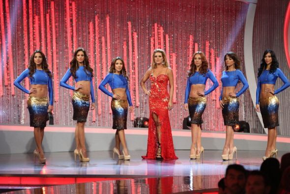Las primeras chicas en aparecer fueron las de Alicia Machado, una vez má...
