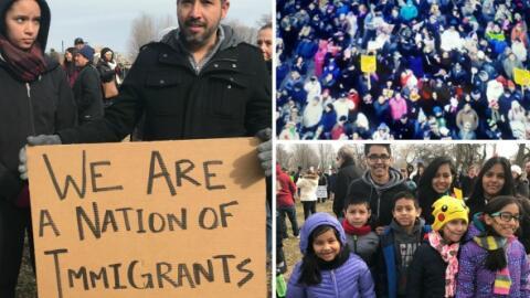 Protesta de un día sin inmigrantes Chicago