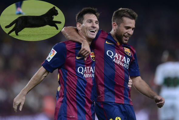 Barcelona arrancó su participación en la Liga española 2014-2015. El que...