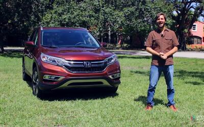 Conoce a la utilitaria mas versátil, la Honda CR-V 2016